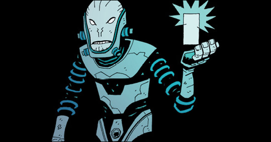 Mignola, Roberson, Grist reveal 'The Visitor: How and Why He Stayed'