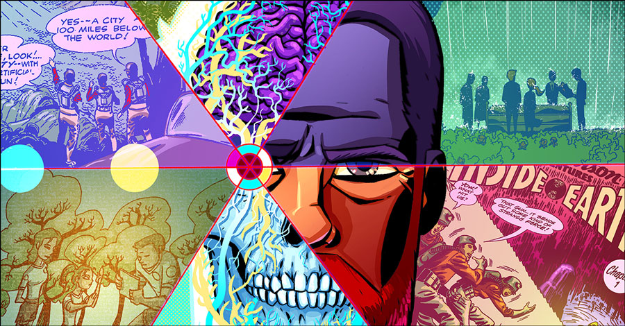 Cave Carson Has a Cybernetic Eye — and a theme song