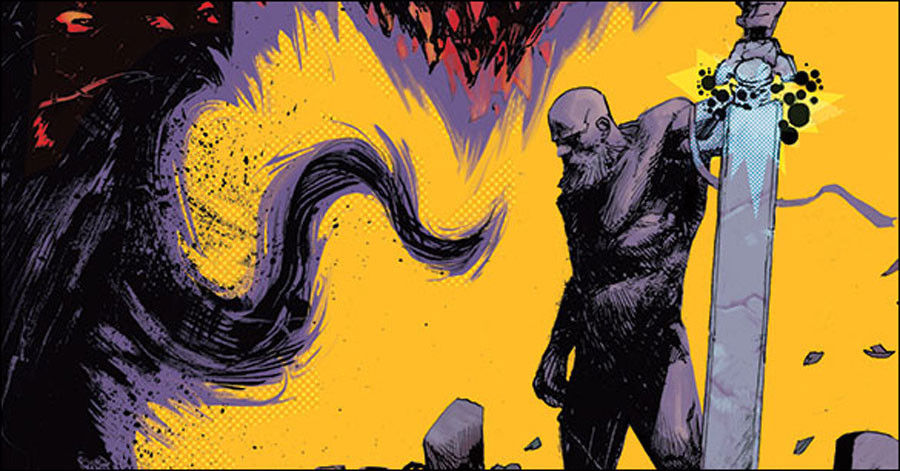 Cates, Shaw deliver magic swords to Texas in 'God Country'