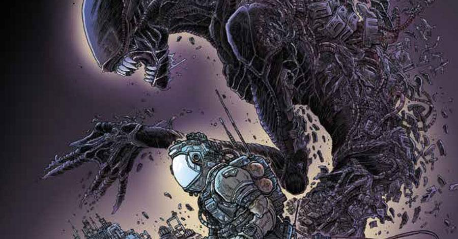 James Stokoe is doing an 'Aliens' comic