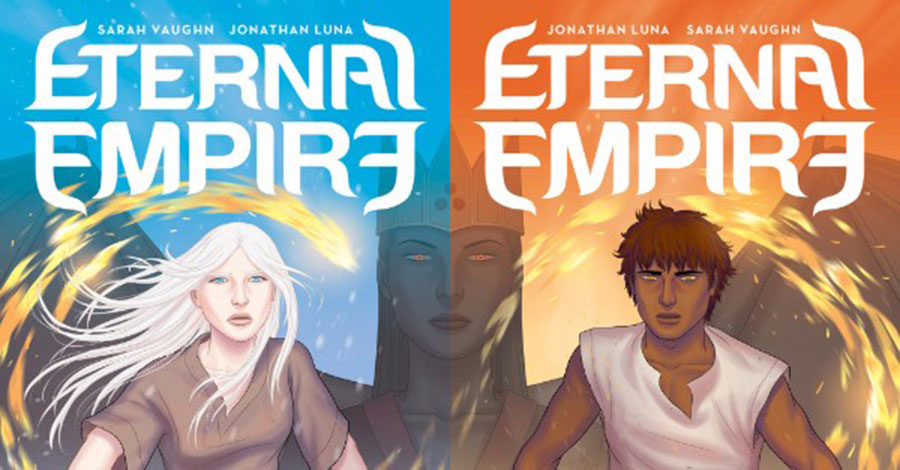 Luna + Vaughn build an 'Eternal Empire' at Image
