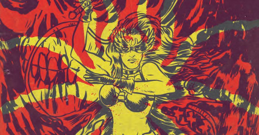 'Space Riders' team reunites for pulpy, 'satanic noir' graphic novel