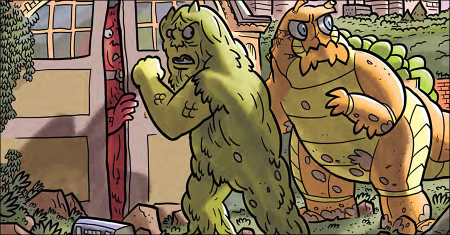 How about a monster-sized preview of 'Kaijumax Season 2'?
