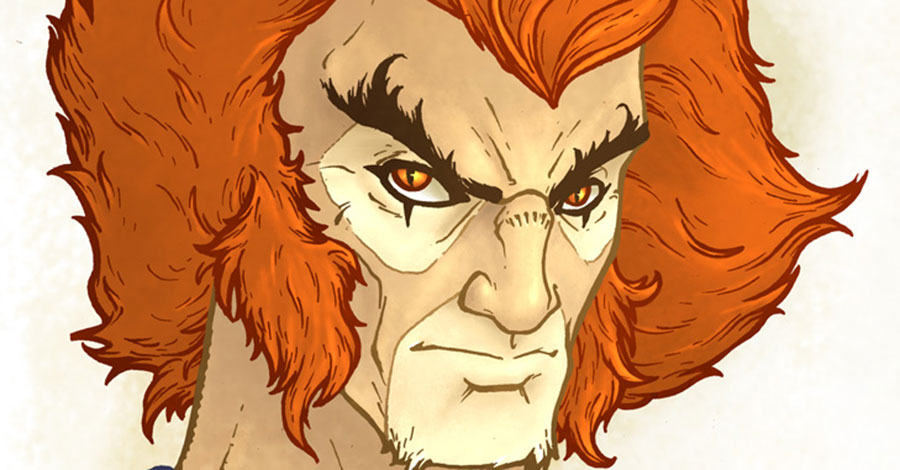David Petersen captures the essence of Third Earth with his ThunderCats portraits