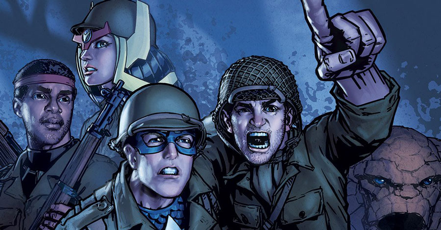 Gene Ha pinup pays tribute to Jack Kirby's WWII service