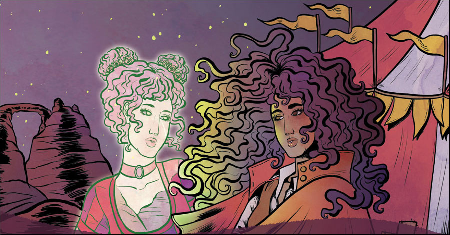 Oni Press to publish supernatural murder mystery 'Spectacle'