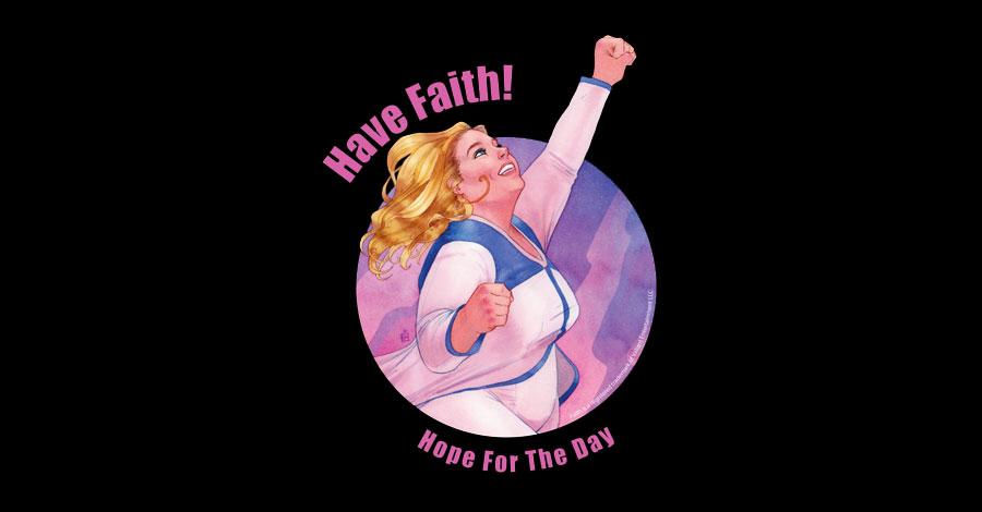 Have Faith: Valiant, Threadless team for Mental Health Awareness Month