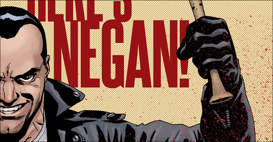 Negan's origin story collected this October
