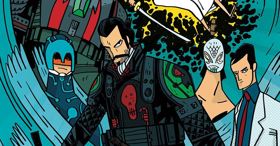 Samurai Jack returns to comics