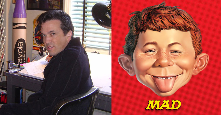 Bill Morrison named executive editor of MAD Magazine