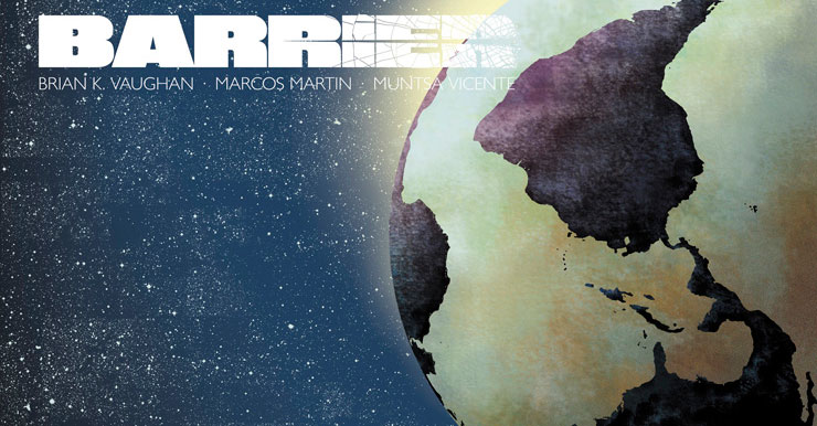Final issue of 'Barrier' arrives at Panel Syndicate