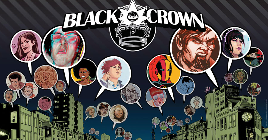 Shelly Bond's Black Crown expands with three more titles