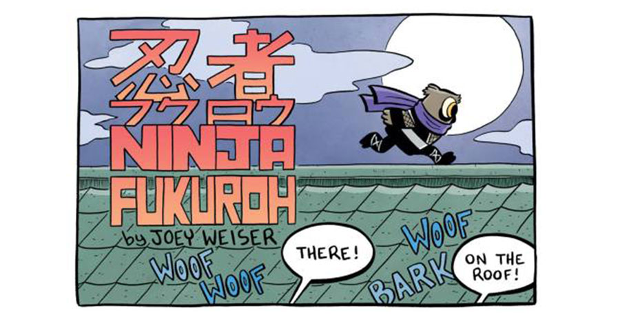 'Spy Seal' enlists Joey Weiser's 'Ninja Fukuroh' as a back-up feature
