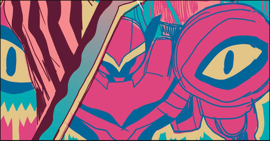 Sharknife returns in Corey Lewis' 'Sun Bakery' #5