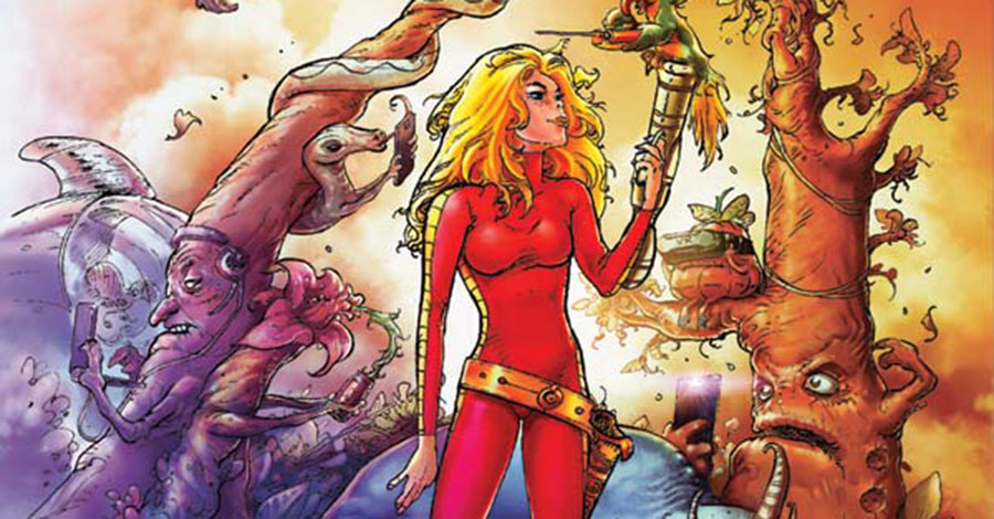 Kenan Yarar joins Mike Carey on Dynamite's 'Barbarella' comic