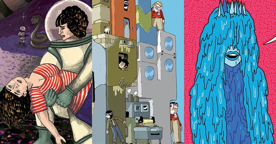 Koyama Press announces new titles from DeForge, Degen and more