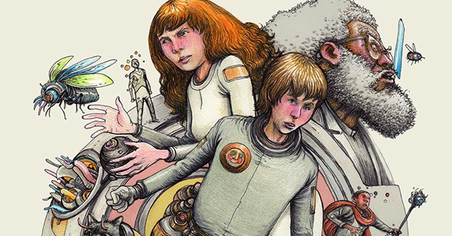 Farel Dalrymple kicks off new 'psychedelic science fiction' webcomic