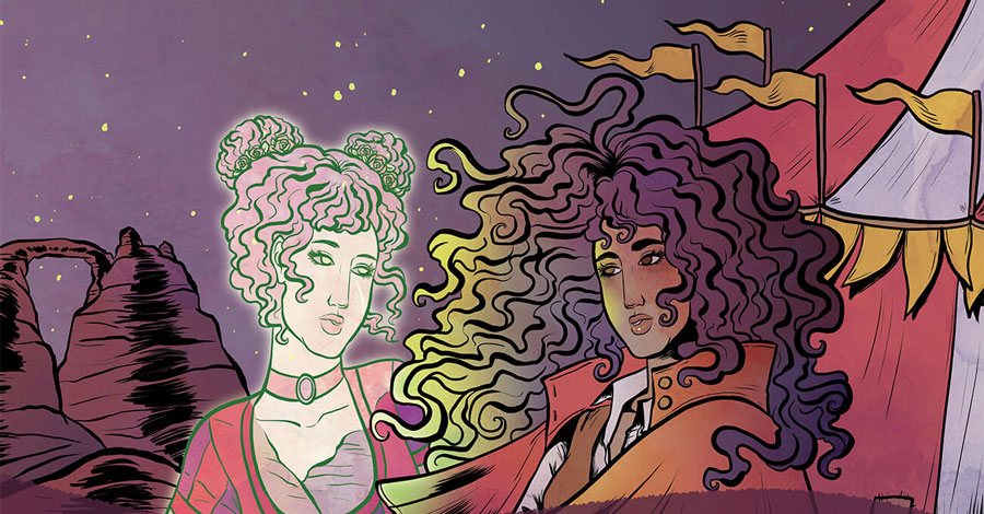 Smash Pages Q&A: Megan Rose Gedris on 'Spectacle'