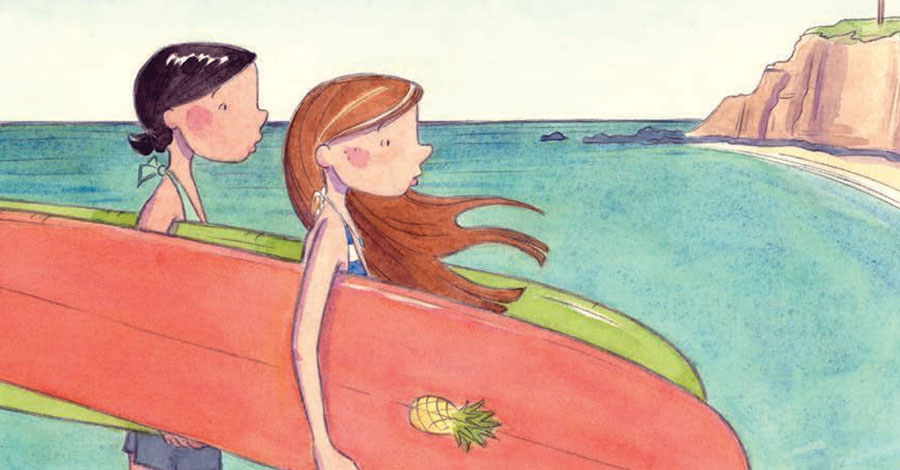Smash Pages Q&A: Kim Dwinell on 'Surfside Girls'