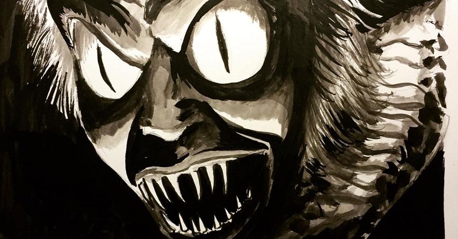 Inktober spotlight: Francesco Francavilla's movie monsters