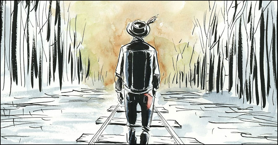 Lemire creates charity print to honor Gord Downie