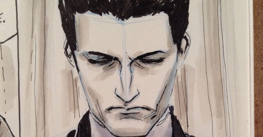 Inktober spotlight: Dustin Weaver's Twin Peaks drawings