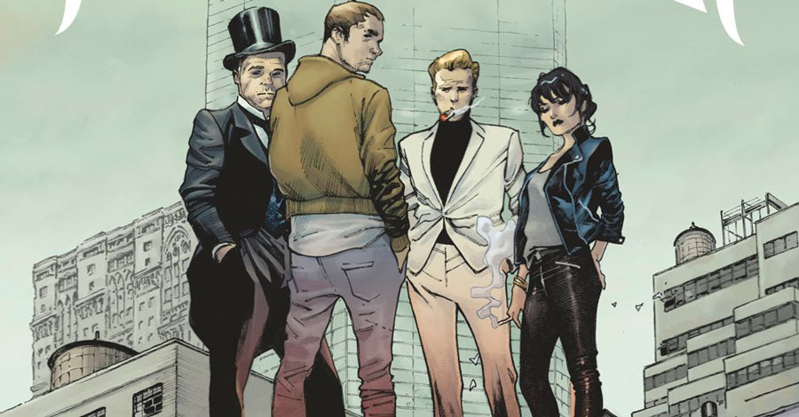 Millar, Coipel team for 'The Magic Order' comic from Netflix
