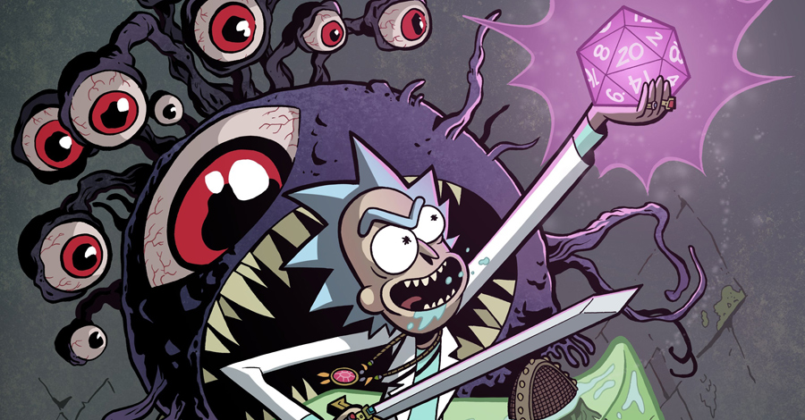 C2E2: 'Rick & Morty,' 'Dungeons & Dragons' cross over this summer