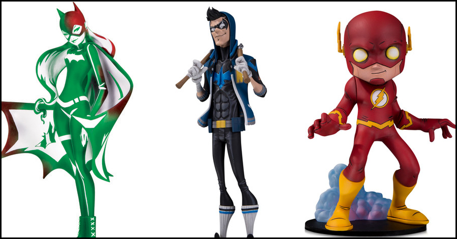 DC Collectibles adds Flash, Nightwing, Batgirl to their 'Artist Alley' statue line