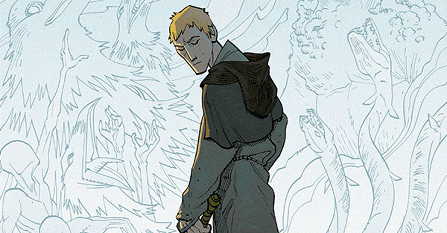 'Green Monk' returns from Image Comics