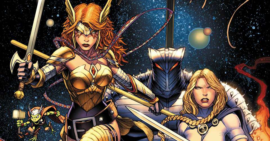 Bunn, Lolli team up on 'Asgardians of the Galaxy'