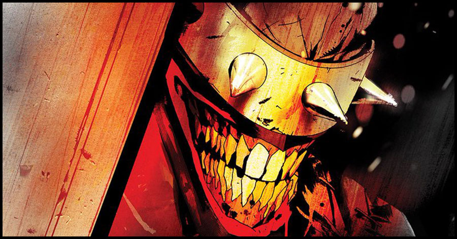 No laughing matter: Snyder + Jock bring back 'The Batman Who Laughs'