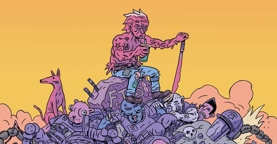 Smash Pages Q&A: Ben Passmore on 'Daygloayhole' and more