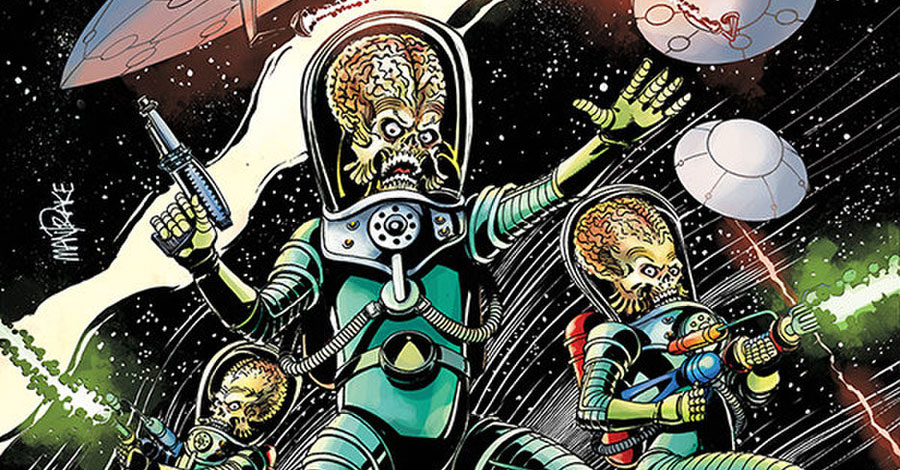 Starks + Schweizer conspire to bring back 'Mars Attacks!'