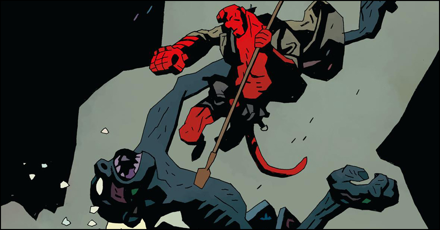 Mignola, CCI celebrate 25 years of Hellboy – SMASH PAGES