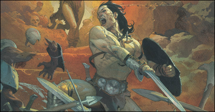 What is best in life: Aaron, Asrar, Ribic, Wilson are Marvel's 'Conan' team