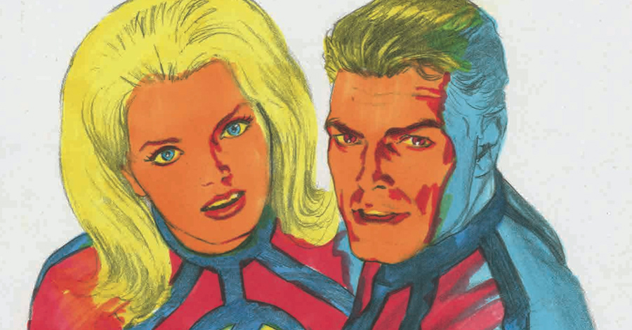 Comics Lowdown: Alex Ross' 'DayGlo' Fantastic Four pitch