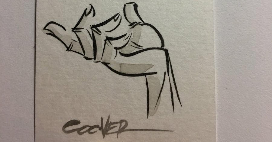 Inktober Spotlight: Colleen Coover's hands and feet (really!)