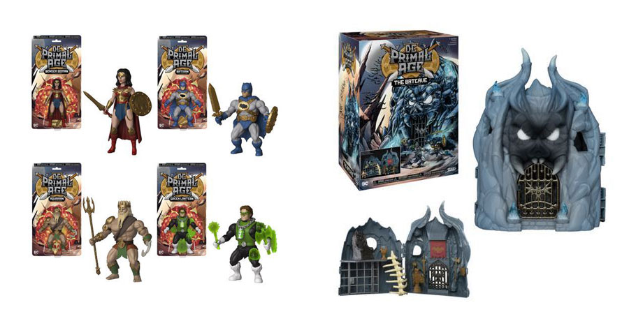 DC + Funko enter the Primal Age with retro-style action figure line