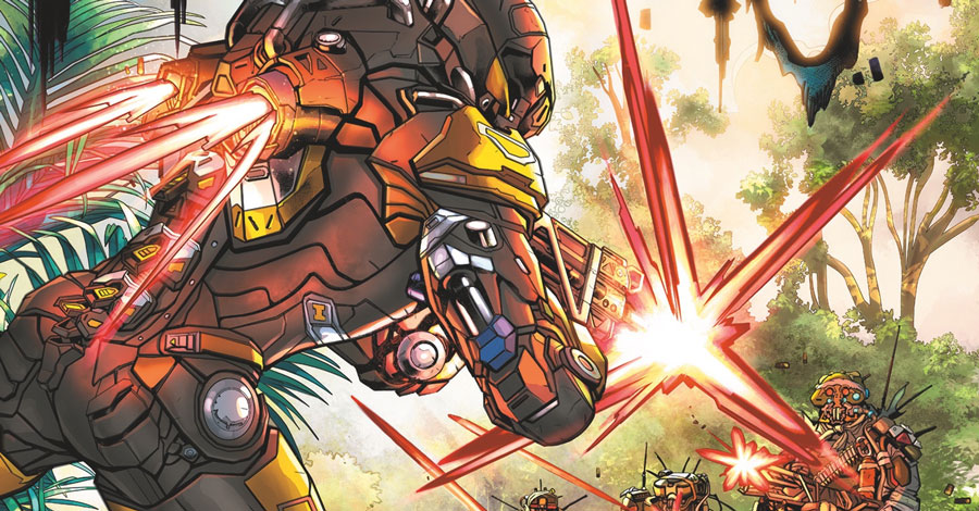 Dark Horse + Bioware team up for 'Anthem' comics