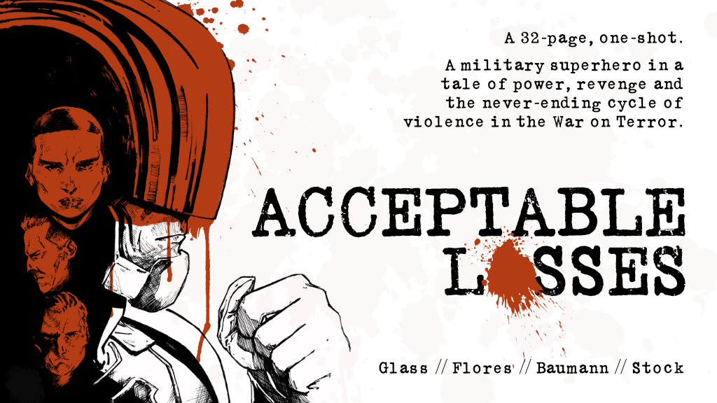 Smash Pages Q&A: Joe Glass on 'Acceptable Losses'