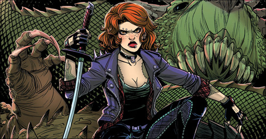 'Calamity Kate' hunts monsters in March