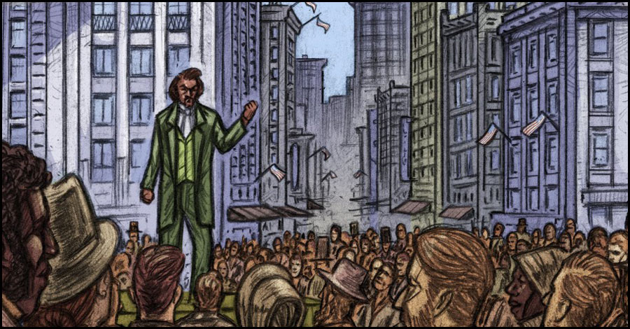 Smash Pages Q&A: David F. Walker on 'The Life of Frederick Douglass'