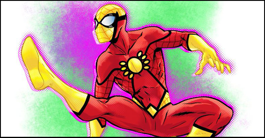 Comic creators share their #spidersona