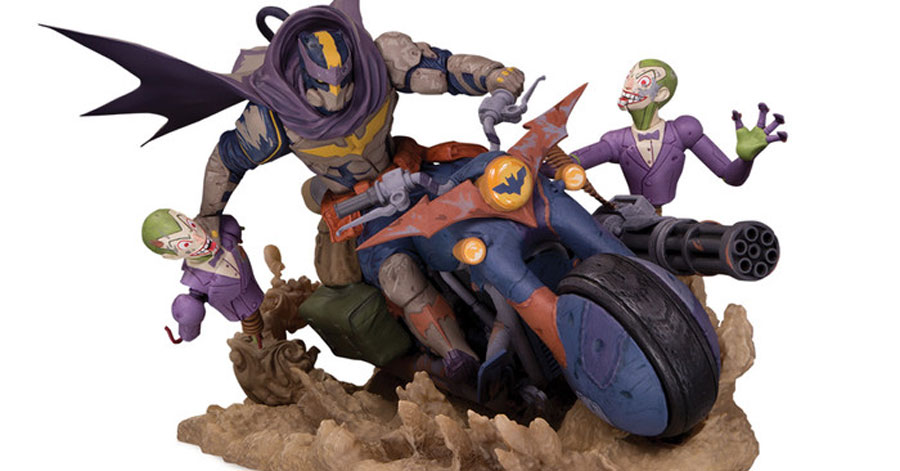 Get revved up for DC's 'Engines of Chaos' statue line