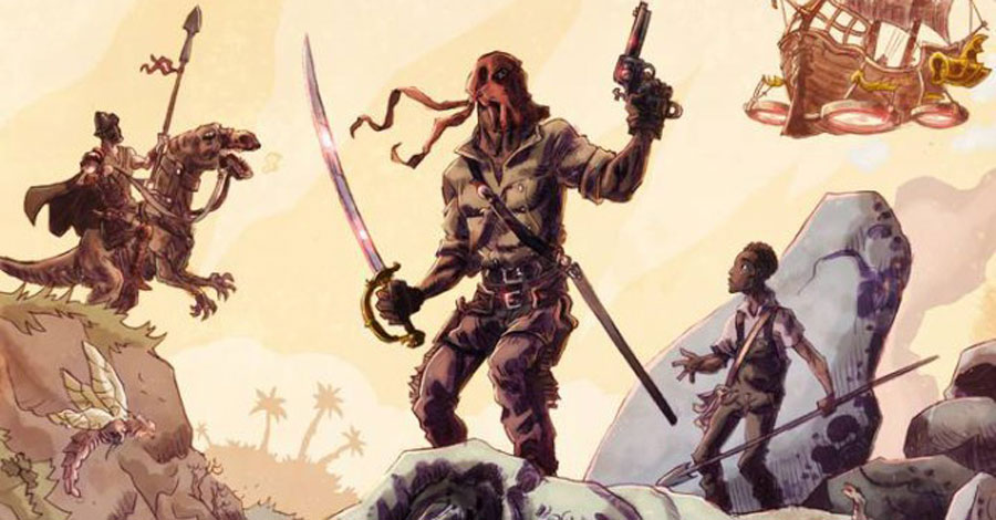 Smash Pages Q&A: Keith Lansdale and Jok