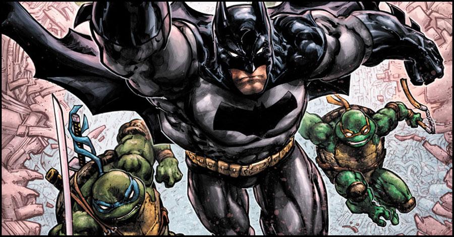 IDW and DC announce Batman/Teenage Mutant Ninja Turtles III