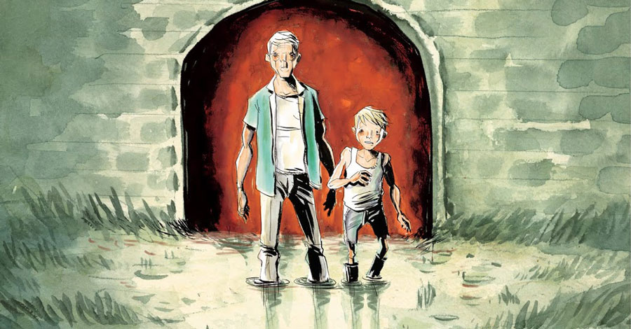 Lemire's 'Frogcatchers' hops into shops this fall
