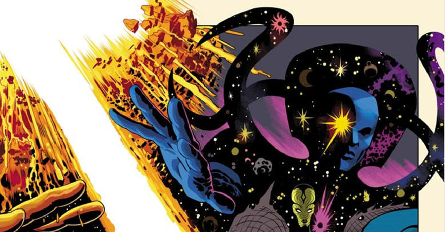 Rodriguez +Lopez kill it in these 'History of the Marvel Universe' preview pages