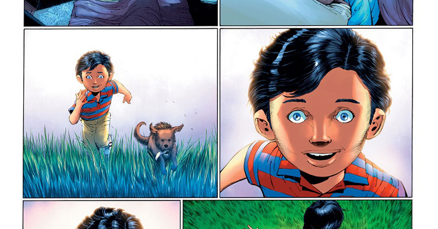 'Superman: Year One' preview showcases key moments on the Kent farm